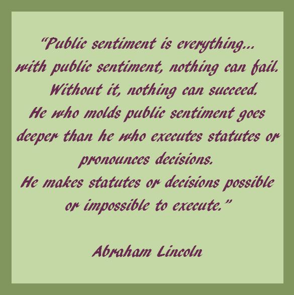 public-sentiment